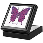 Princess Butterfly Keepsake Box