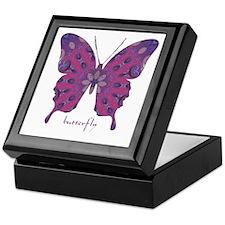 Princess Butterfly Keepsake Box