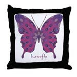 Princess Butterfly Throw Pillow