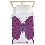 Princess Butterfly Twin Duvet