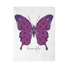Princess Butterfly Twin Duvet