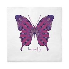 Princess Butterfly Queen Duvet