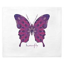 Princess Butterfly King Duvet