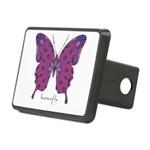 Princess Butterfly Rectangular Hitch Cover