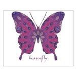 Princess Butterfly Small Poster