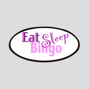 Eat Sleep Bingo Patches