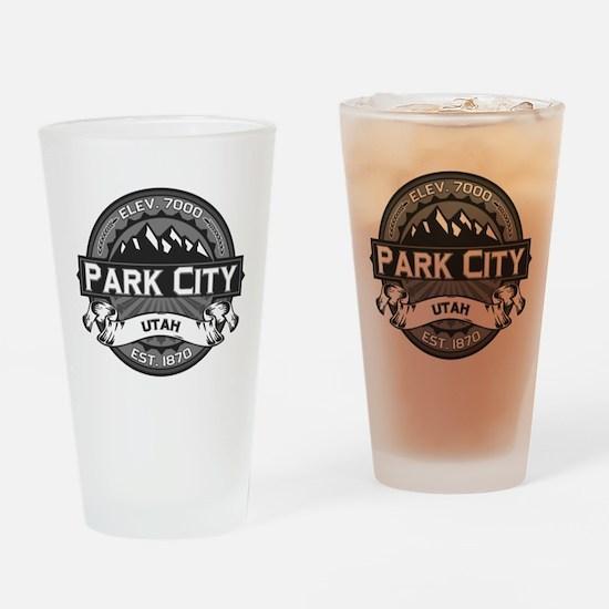 Park City Grey Drinking Glass