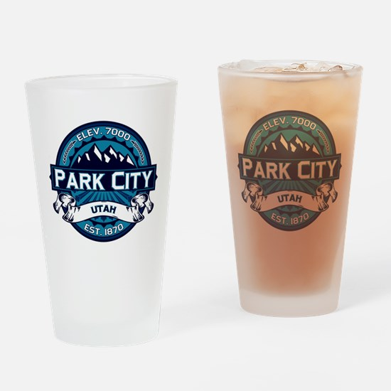 Park City Ice Drinking Glass