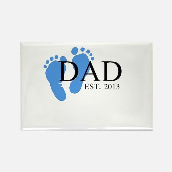 Dad, Est. 2013 Rectangle Magnet