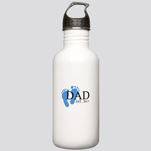 Dad, Est. 2013 Stainless Water Bottle 1.0L