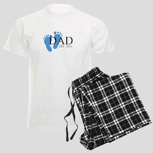 Dad, Est. 2013 Men's Light Pajamas