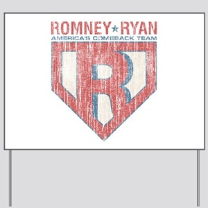 Vintage Romney-Ryan-Republican Yard Sign