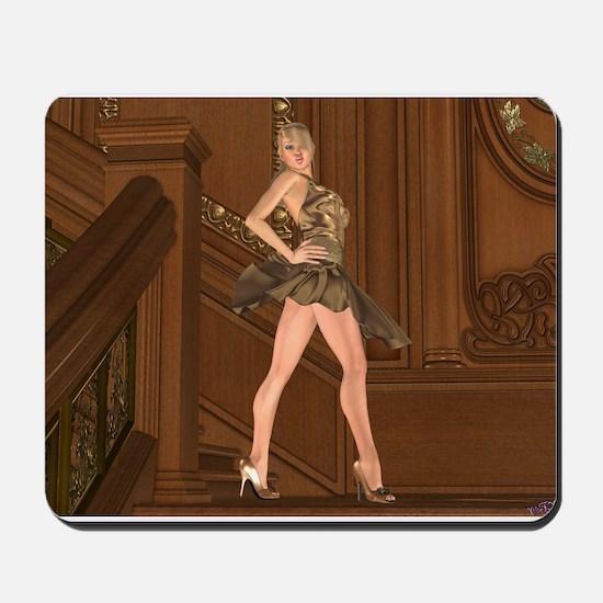 ShesALady.jpg Mousepad