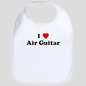I Love Air Guitar Bib