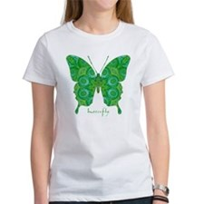 Christmas Butterfly Women's T-Shirt