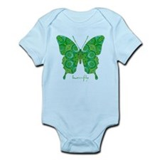 Christmas Butterfly Infant Bodysuit