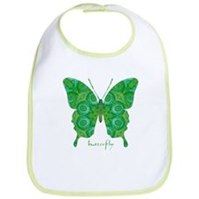 Christmas Butterfly Bib