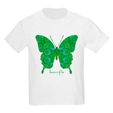 Christmas Butterfly Kids Light T-Shirt