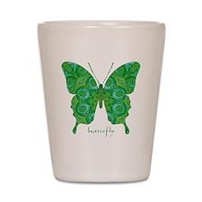 Christmas Butterfly Shot Glass