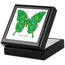 Christmas Butterfly Keepsake Box