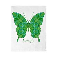 Christmas Butterfly Twin Duvet