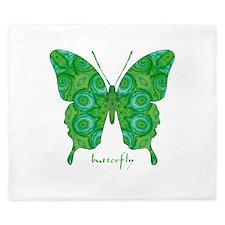 Christmas Butterfly King Duvet