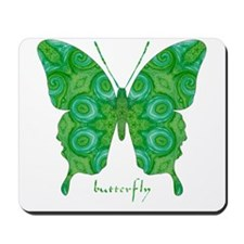 Christmas Butterfly Mousepad