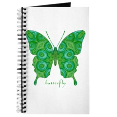 Christmas Butterfly Journal