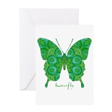 Christmas Butterfly Greeting Card