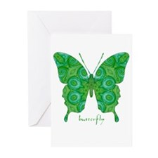 Christmas Butterfly Greeting Cards (Pk of 20)