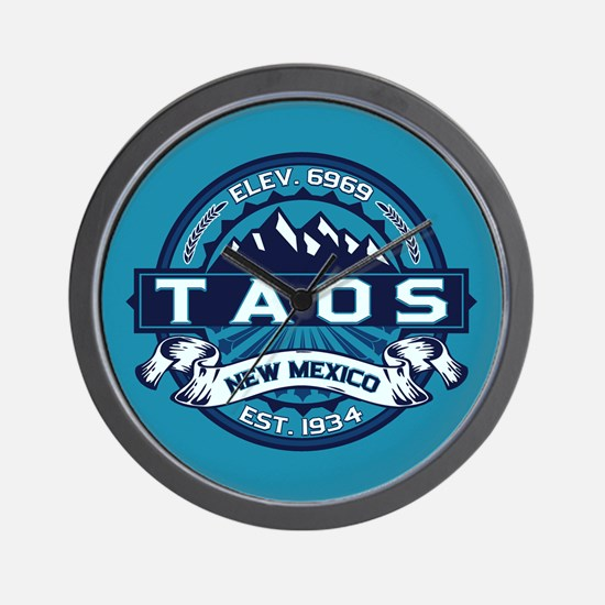 Taos Ice Wall Clock