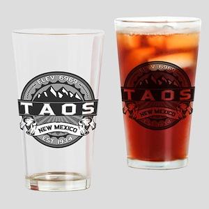 Taos Grey Drinking Glass