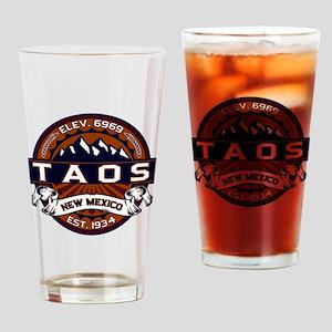 Taos Vibrant Drinking Glass
