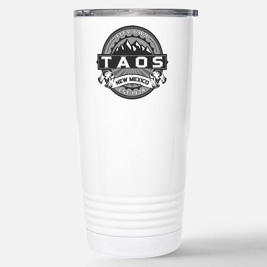 Taos Grey Stainless Steel Travel Mug