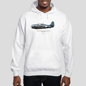 The F4F Wildcat of Joe Foss Hooded Sweatshirt