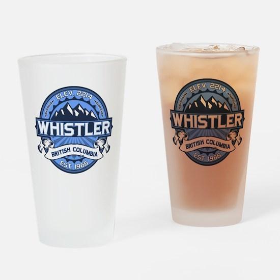 Whistler Blue Drinking Glass