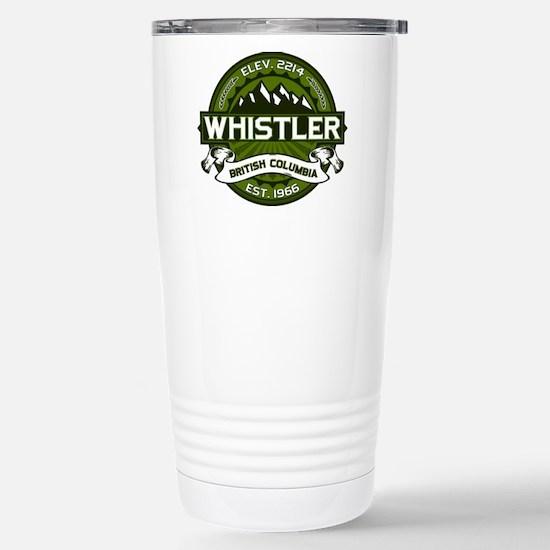 Whistler Olive Stainless Steel Travel Mug