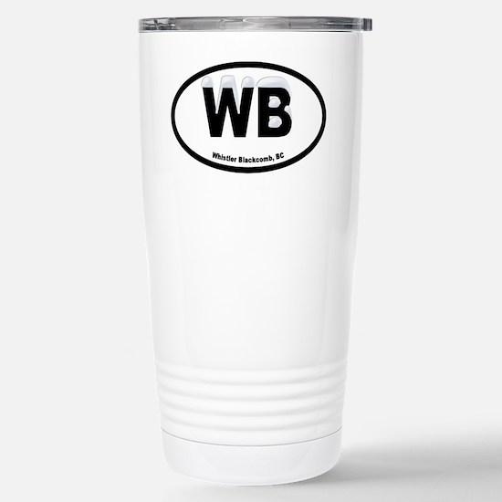 Whistler B.C. Stainless Steel Travel Mug