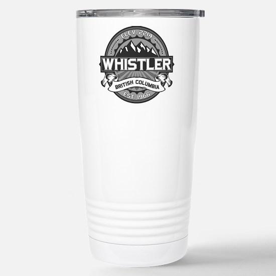 Whistler Grey Stainless Steel Travel Mug