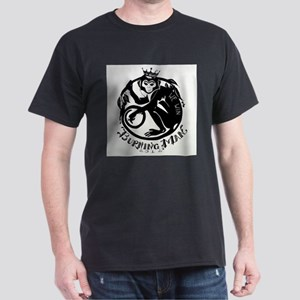 Laughing Monkey Burning Man Logo 2012 Dark T-Shirt
