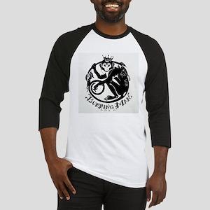 Laughing Monkey Burning Man Logo 2012 Baseball Jer