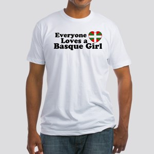 Basque Girl Fitted T-Shirt