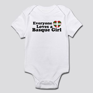 Basque Girl Infant Creeper
