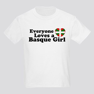 Basque Girl Kids T-Shirt
