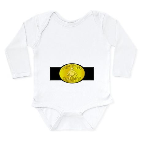 Light-Weight Champion Belt Long Sleeve Infant Body