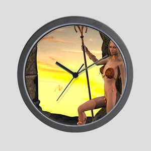 SurveyingTheLand Wall Clock