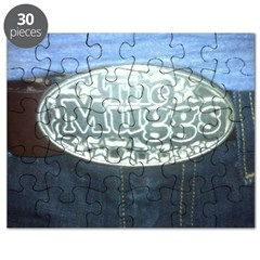 The Muggs - Belt Buckle - Puzzle
