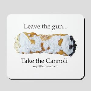 Cannoli Mousepad