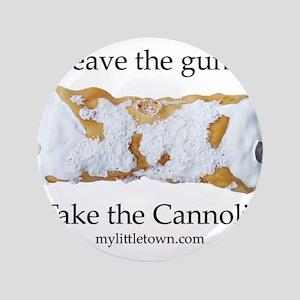 """Cannoli 3.5"""" Button"""