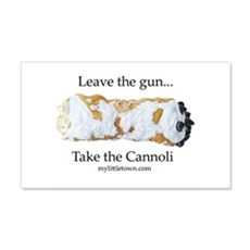 Cannoli Wall Decal